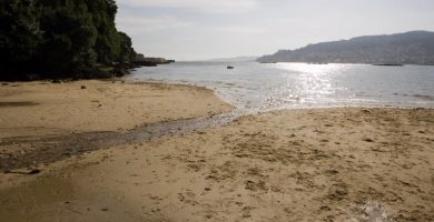 Playa Cabanas en Redondela