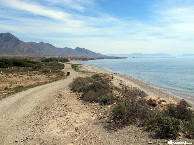 Playa Cabezo de la Pelea en Mazarrón