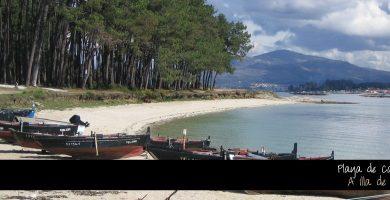 Playa Cabodeiro en A Illa de Arousa