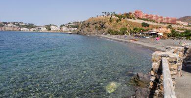 Playa Cabria en Almuñécar