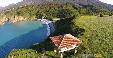 Playa Cadavedo en Valdés