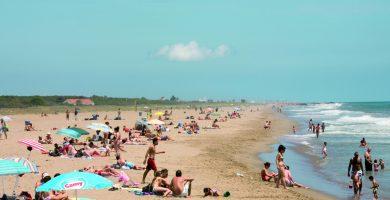 Playa Cal Francès en Viladecans