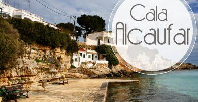 Playa Cala Alcaufar en Sant Lluís