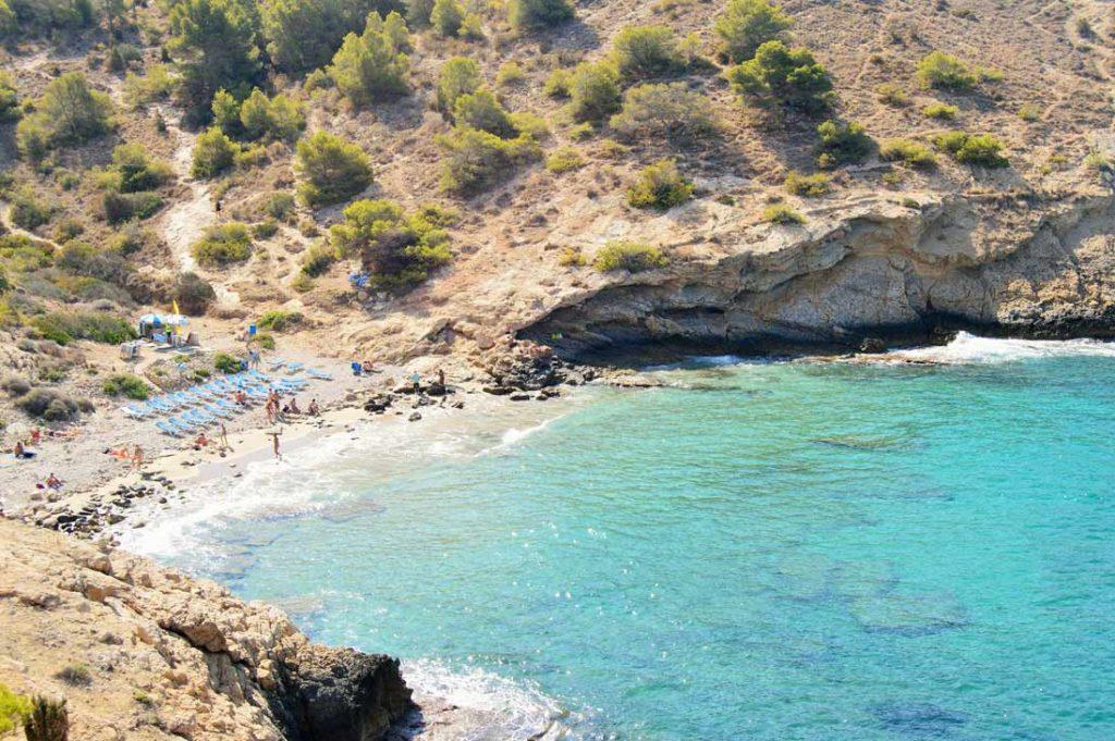 Playa Cala Almadraba en Benidorm