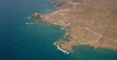 Playa Cala Arena en Níjar