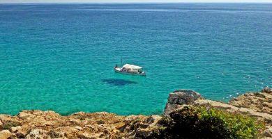 Playa Cala Auberdans en Capdepera