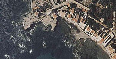 Playa Cala Avellan en Cartagena
