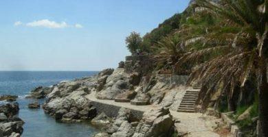 Playa Cala Banys en Lloret de Mar