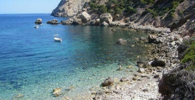 Playa Cala Basset en Andratx