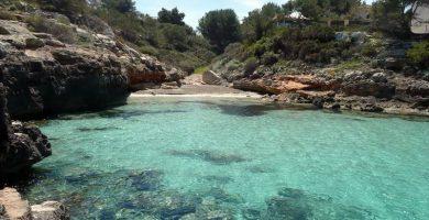 Playa Cala Blava en Llucmajor