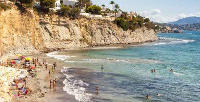 Playa Cala Calalga en Calp