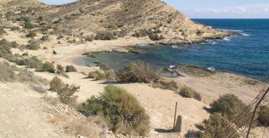 Playa Cala Cantalars en Alacant