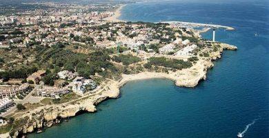 Playa Cala Canyadell en Altafulla