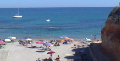 Playa Cala Capitán en Orihuela