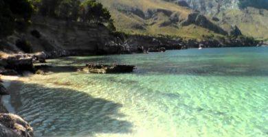 Playa Cala Carbón en Níjar