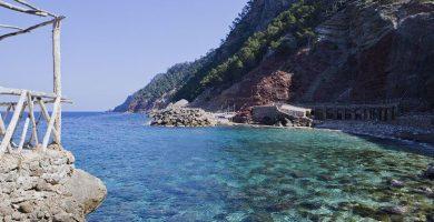 Playa Cala Ca's Xirimié en Estellencs