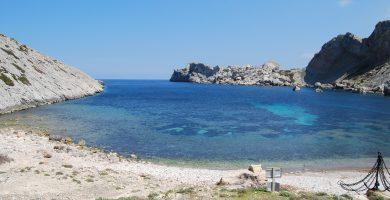 Playa Cala Castell en Pollença