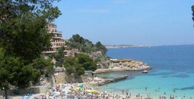 Playa Cala Comtessa en Calvià