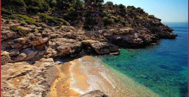 Playa Cala Conills en Andratx