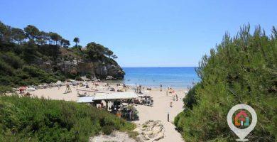 Playa Cala Crancs en Salou