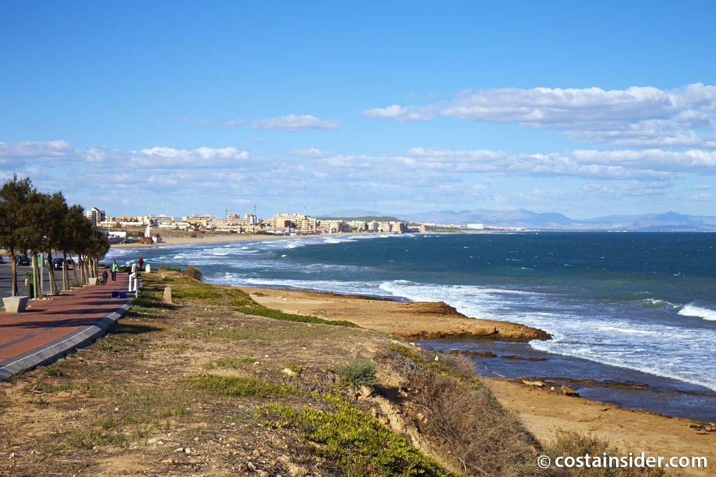 Playa Cala de Cabo Cervera en Torrevieja