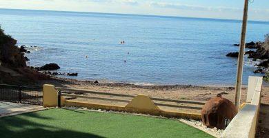 Playa Cala de Canalicas en Águilas