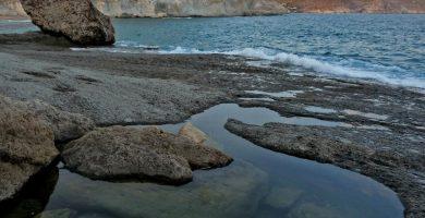 Playa Cala de Enmedio en Níjar
