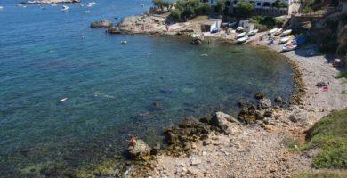 Playa Cala de la Creu en L'Escala