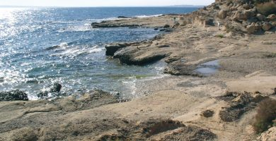 Playa Cala de la Palmera en Alacant