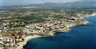 Playa Cala de la Roca Plana en Vinaròs