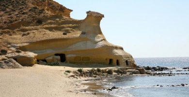 Playa Cala de la Tía Antonia en Pulpí