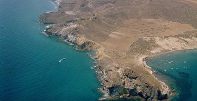 Playa Cala de los Amarillos en Níjar