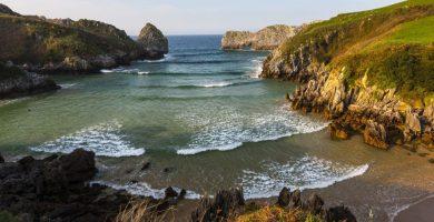 Playa Cala de O Peiral en Cariño