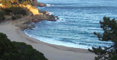 Playa Cala de Sant Francesc en Blanes