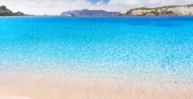 Playa Cala de Santa Ponça en Calvià