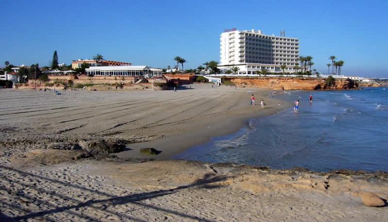 Playa Cala del Bosque en Orihuela
