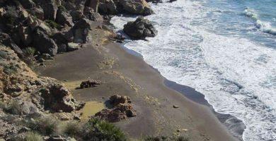 Playa Cala del Caballo en La Unión