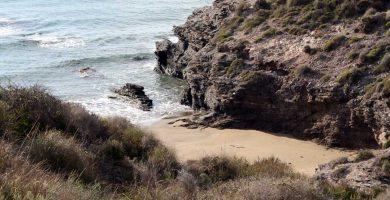 Playa Cala del Cuervo en Níjar