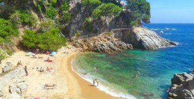 Playa Cala del Forn en Calonge