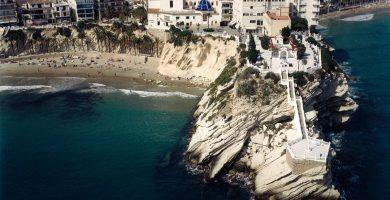 Playa Cala del Mal Pas en Benidorm