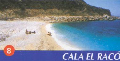 Playa Cala del Mallorquí en Calp