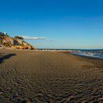 Playa Cala del Moral en Rincón de la Victoria