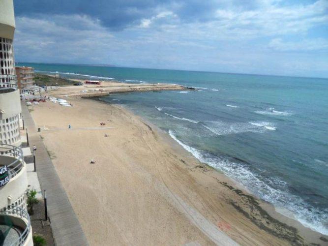 Playa Cala del Palangre en Torrevieja