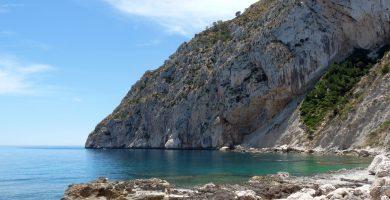 Playa Cala del Penyal en Calp