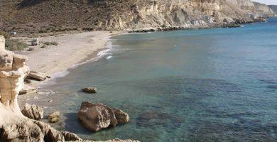 Playa Cala del Plomo en Níjar