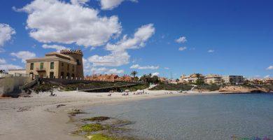 Playa Cala del Rincón en Pilar de la Horadada