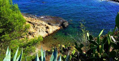 Playa Cala dels Esculls en Calonge