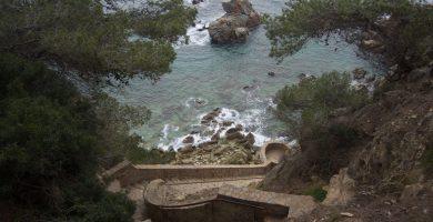 Playa Cala dels Frares en Lloret de Mar