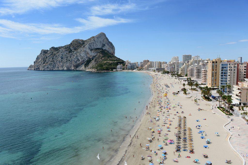 Playa Cala dels Jueus en Alacant