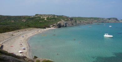 Playa Cala d'En Tortuga en Maó
